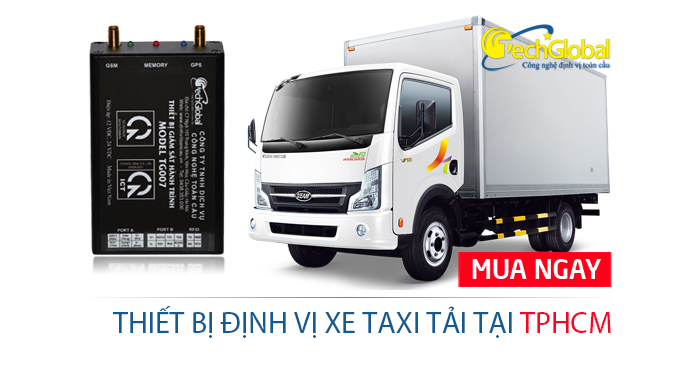 Định vị xe taxi tải tại TPHCM