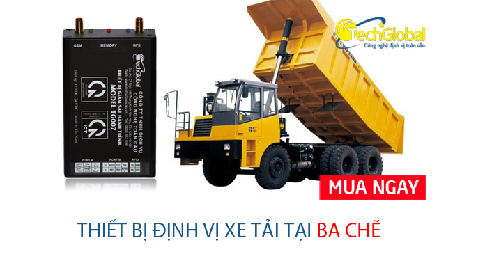 Lắp định vị xe tải tại Ba Chẽ Quảng Ninh