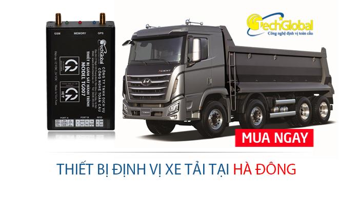 Lắp định vị xe tải tại Hà Đông Hà Nội