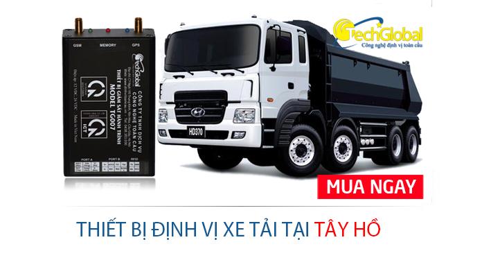 Lắp định vị xe tải tại Tây Hồ Hà Nội