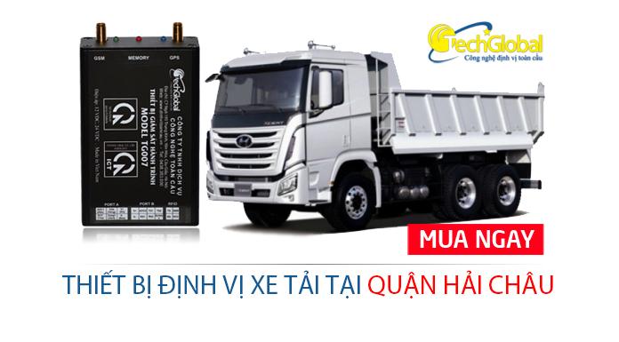 Lắp định vị xe tải tại quận Hải Châu Đà Nẵng