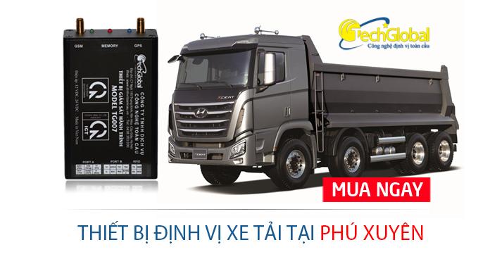 Lắp định vị xe tải tại Phú Xuyên Hà Nội
