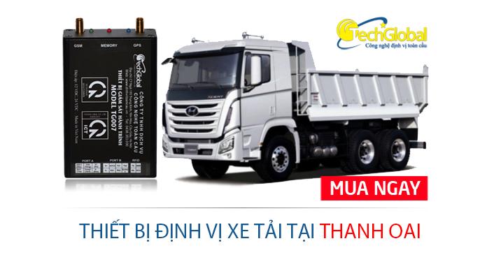 Lắp định vị xe tải tại Thanh Oai Hà Nội