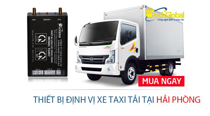 Định vị xe taxi tải tại Hải Phòng