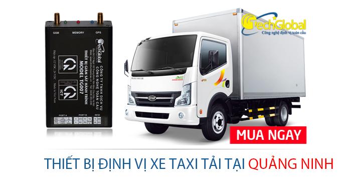 Lắp định vị xe taxi tải tại Quảng Ninh