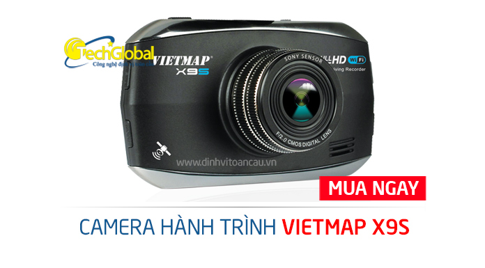 Đánh giá camera hành trình Vietmap X9S