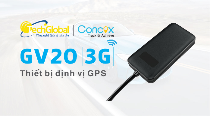 Thiết bị định vị GV20 chip 3G