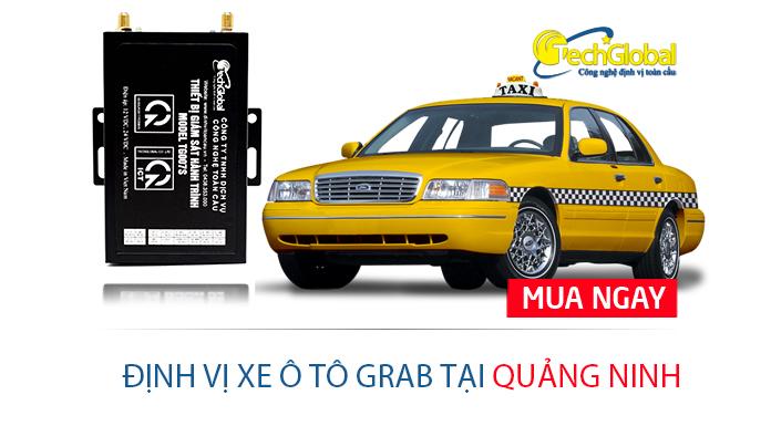 Định vị xe ô tô Grab tại Quảng Ninh