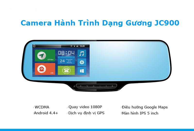 Camera hành trình JC900 cao cấp định vị gps, video 3G, dẫn đường