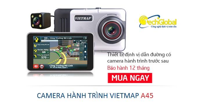Camera hành trình Vietmap A45 dẫn đường chuyên nghiệp