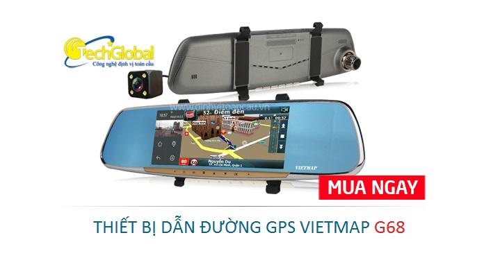 Thiết bị dẫn đường Vietmap G68