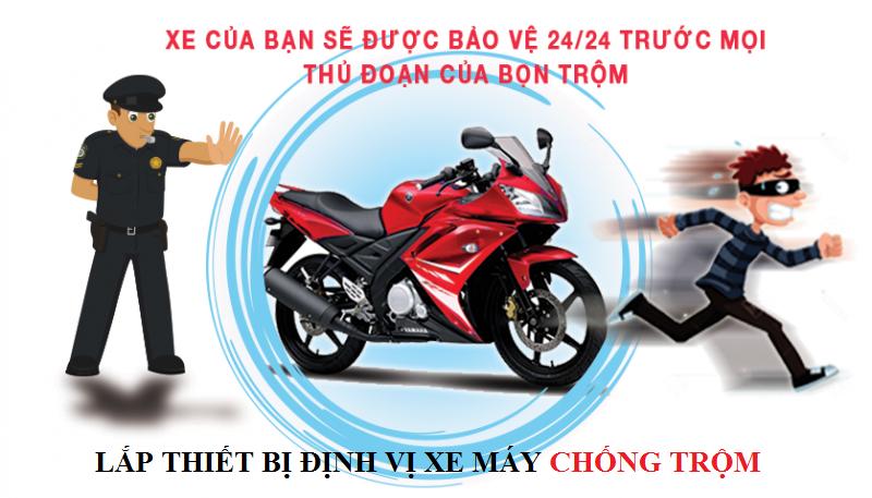 Thiết bị định vị xe máy giúp bảo vệ xe máy của bạn 24/24