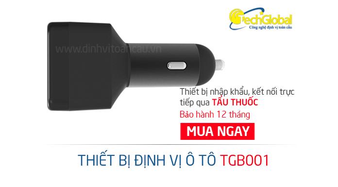 Thiết bị định vị ô tô TGB001 dùng sạc tẩu