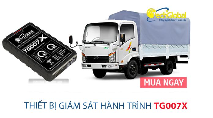 Địa chỉ bán thiết bị giám sát hành trình TG007X chính hãng