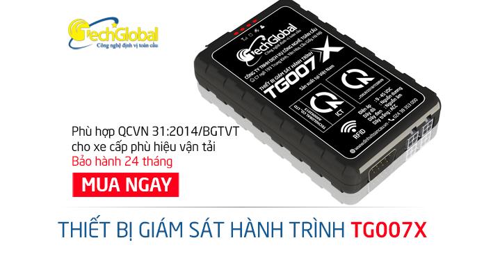 Thiết bị giám sát hành trình TG007X tích hợp RFID