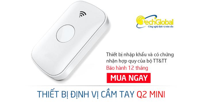 Thiết bị định vị không dây chính hãng giá thấp nhất Việt Nam