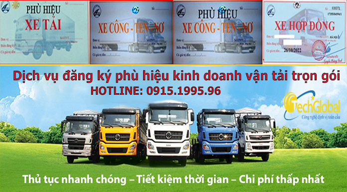 Phù hiệu vận tải xe tải là gì?