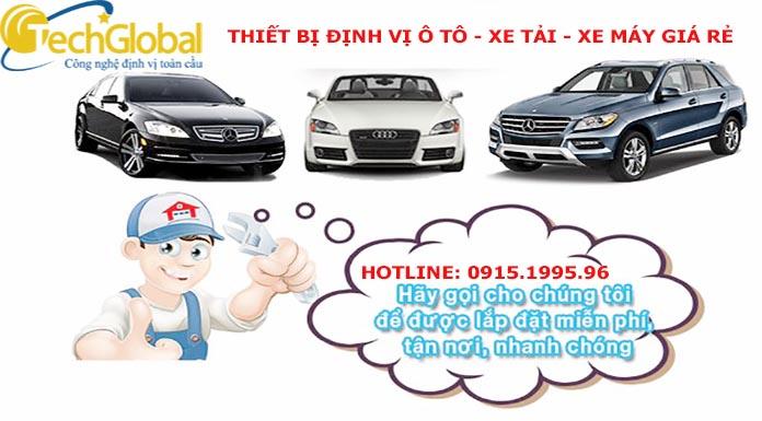 Tư vấn địa chỉ bán định vị gps Techglobal chính hãng giá rẻ tại Hà Nội