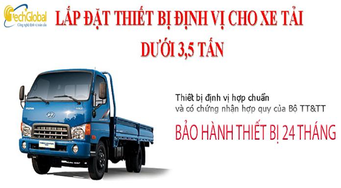 Thiết bị định vị xe tải Techglobal giá rẻ