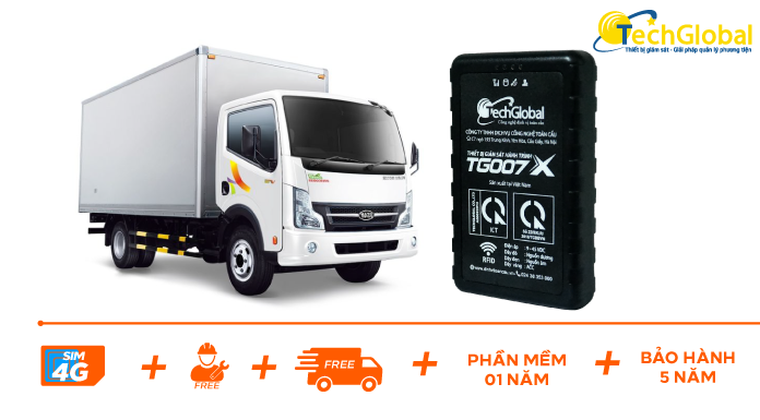 Thiết bị định vị xe tải TG007X mới nhất và nhỏ gọn nhất hiện nay