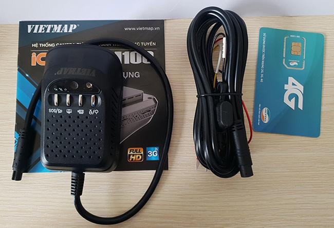 Camera VM100 và phụ kiện đi kèm