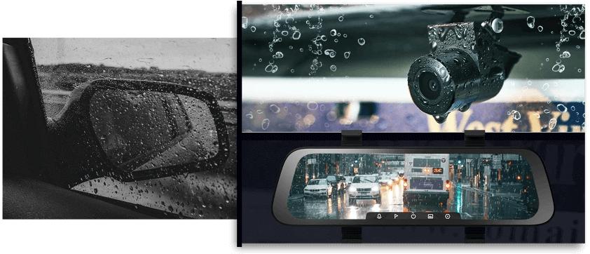70mai rearview có Camera chống nước IP67