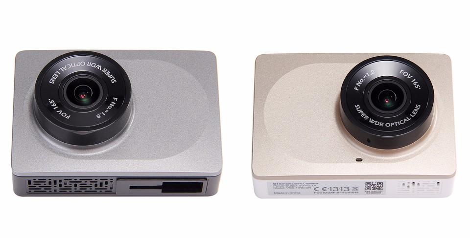 Thiết kế đơn giản, màu sắc nhã nhặn, Xiaomi Yi Car phù hợp với hầu hết nội thất ô tô.