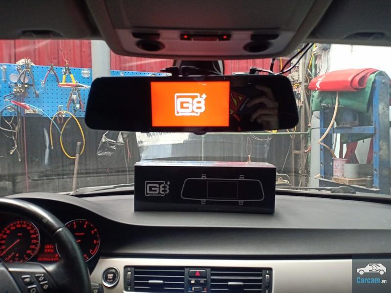lắp đặt camera gương G8+