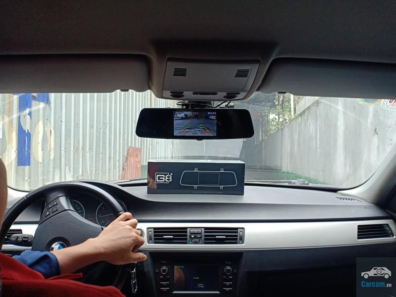 lắp đặt camera gương G8+ tại techglobal