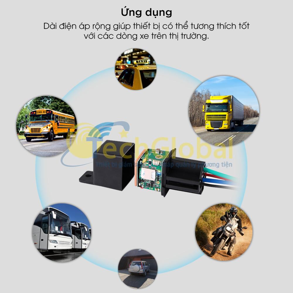 Định vị ô tô ứng dụng rộng rãi cho mọi dòng xe ô tô hiện nay