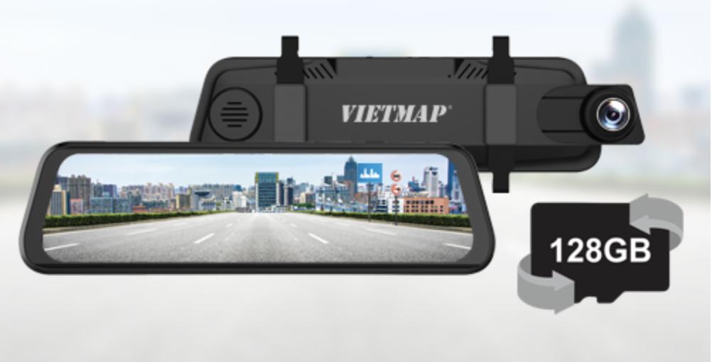 VIETMAP G39 sử dụng thẻ nhớ Micro SD Class10 với dung lượng lên đến 128GB.