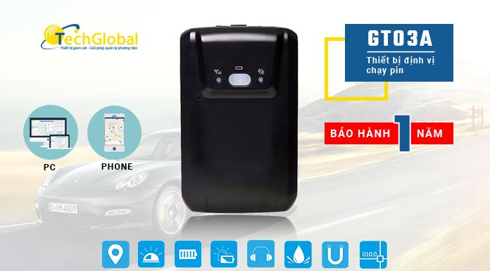 Vì sao nên lựa chọn thiết bị định vị cầm tay chạy pin GT03A