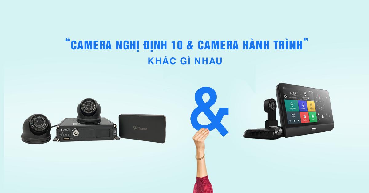 Sự khác nhau giữa CAMERA NGHỊ ĐỊNH 10 và Camera Hành Trình Thông Thường là gì?