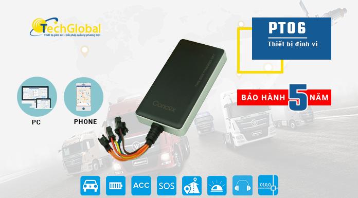 Thiết bị định vị xe máy PT06 hợp quy GSM Có nghe lén âm thanh