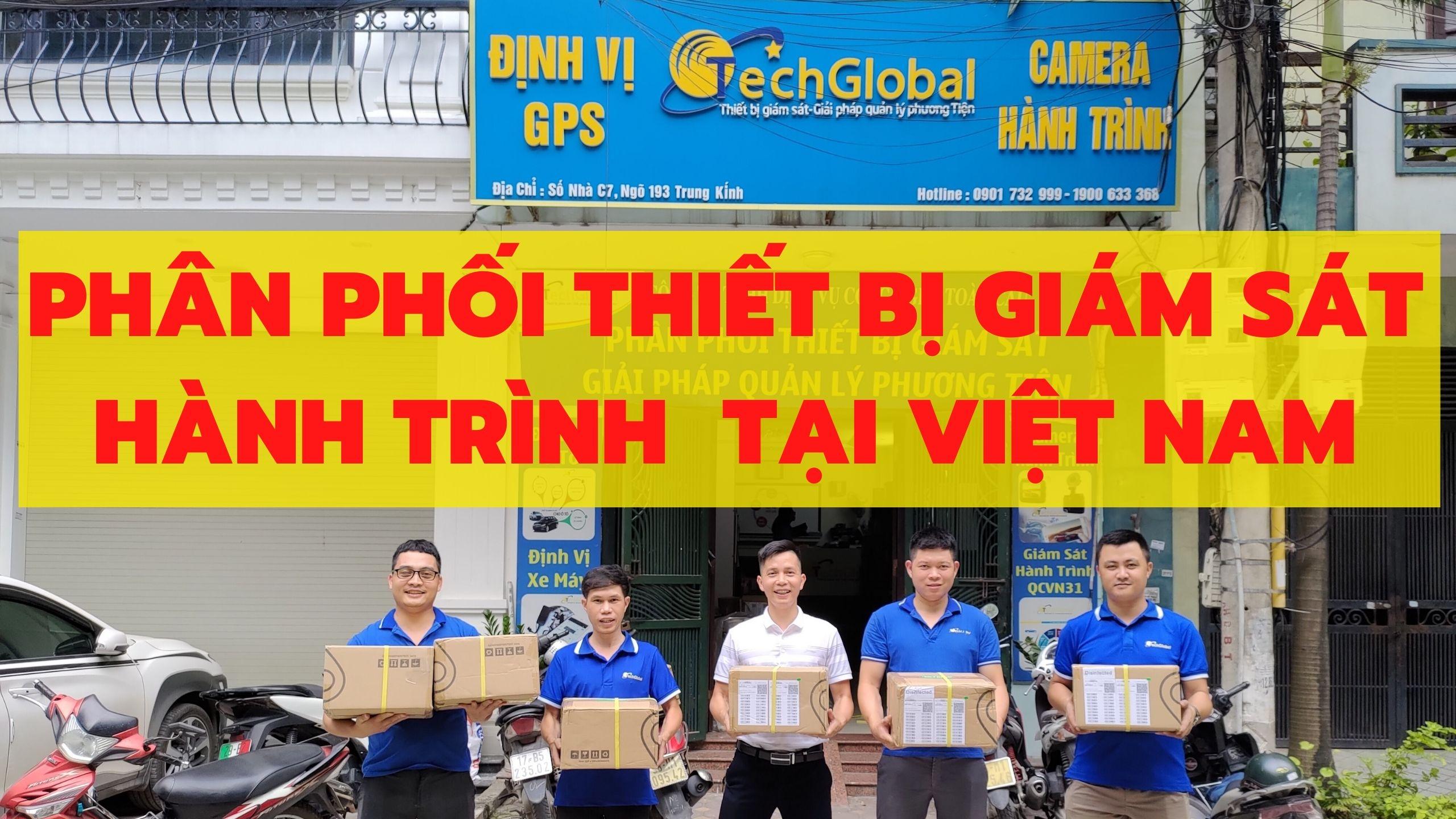 Nhà phân phối thiết bị giám sát hành trình xe - Hợp chuẩn Bộ GTVT