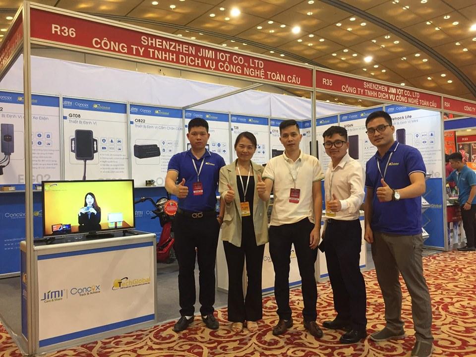 TechgGlobal tham gia triển lãm Vietnam Autoexpo 2019