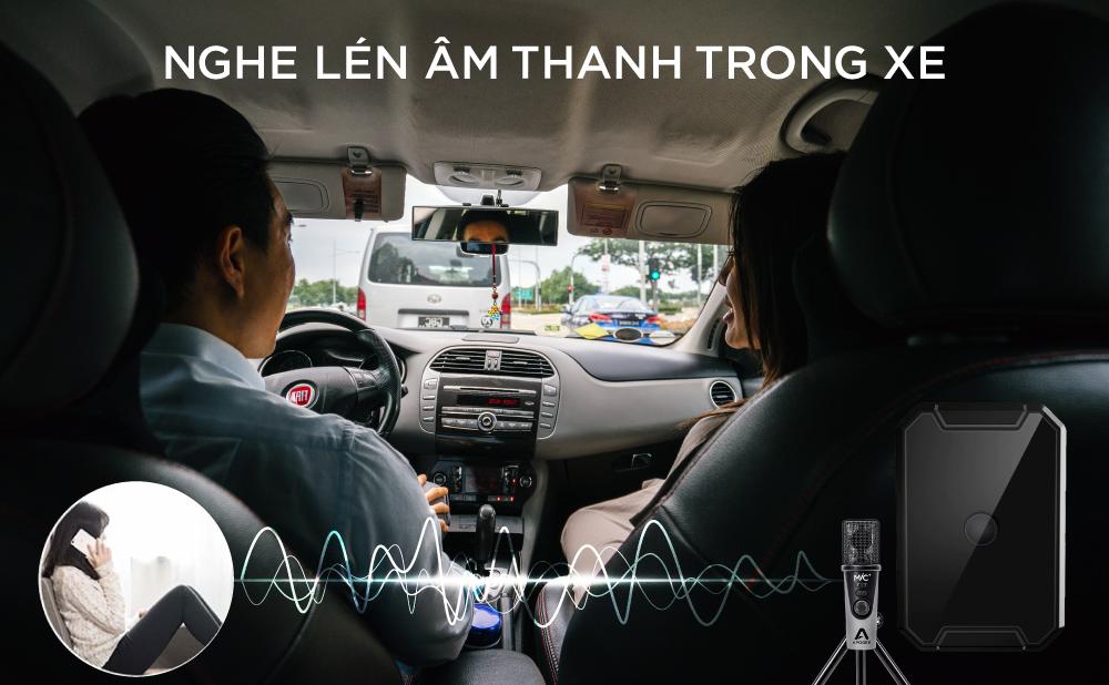 Thiết bị định vị giúp bạn nghe lén âm thanh xung quanh dễ dàng