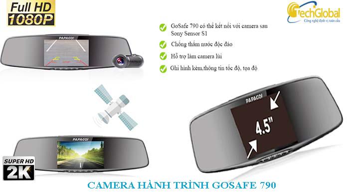 Camera hành trình gương Vietmap Papago GoSafe 790