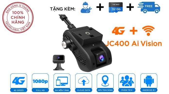 JC400 có Camera quay tài xế dịch chuyển linh hoạt