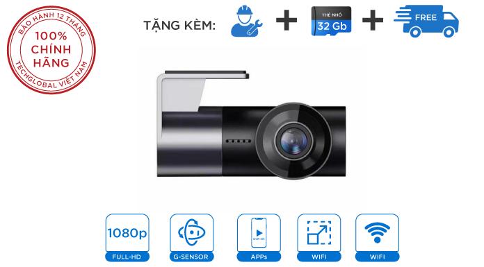 Camera Hành Trình Carcam W2S Siêu Nhỏ Gọn