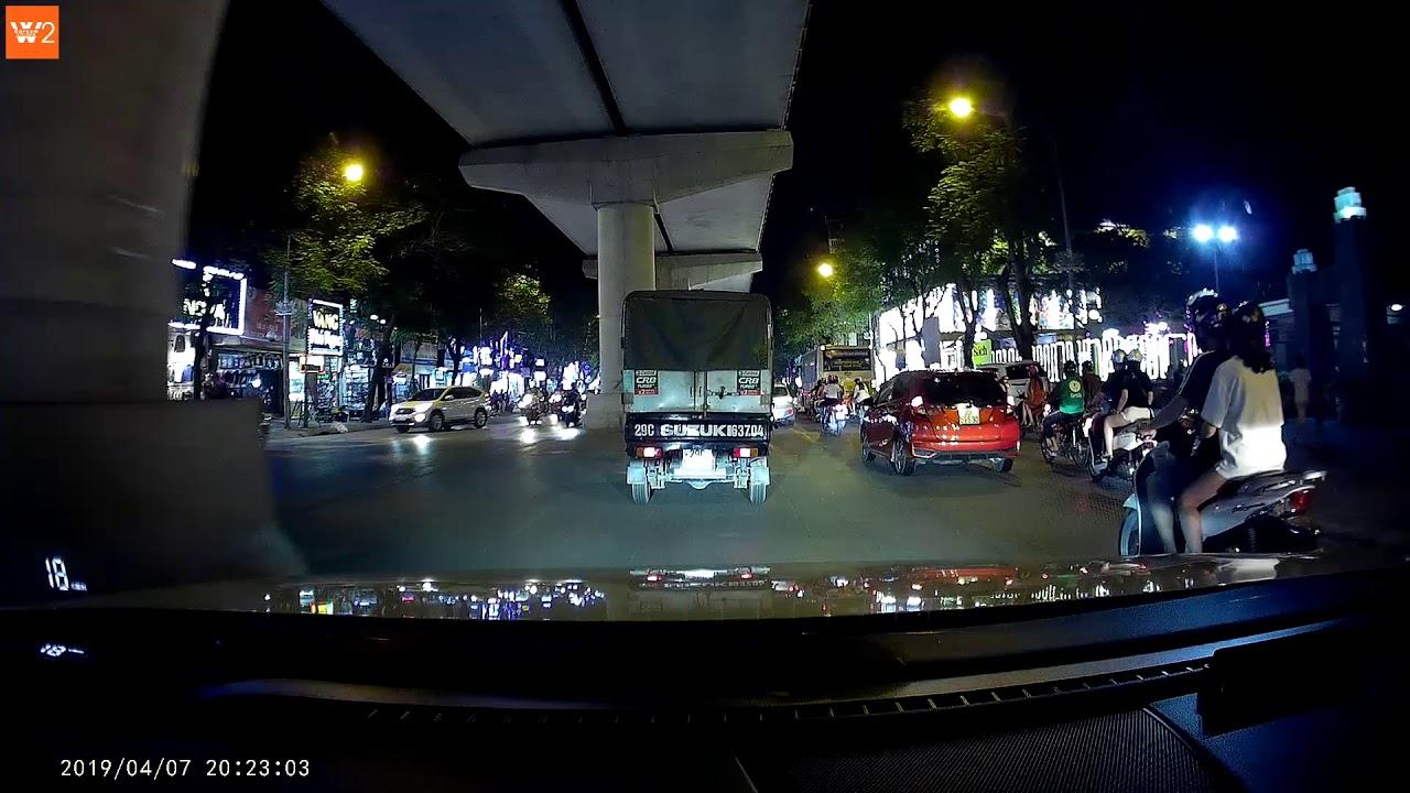 Camera hành trình W2 của TechGlobal cung cấp ghi hình rõ ngay cả ban đêm