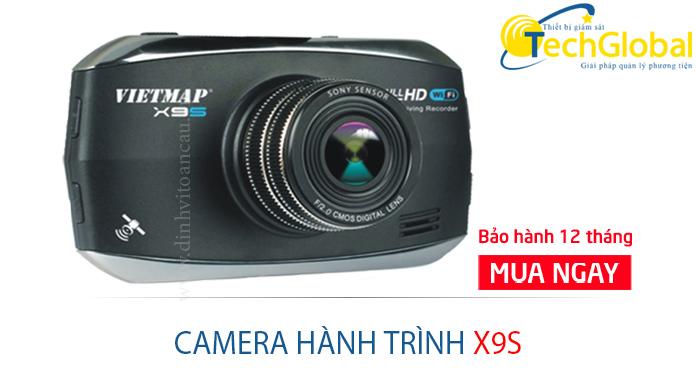 Camera hành trình ô tô X9S của TechGlobal cung cấp