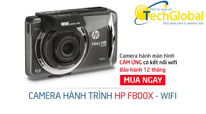 Camera hành trình ô tô F800X giá rẻ có wifi do TechGlobal cung cấp