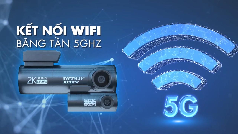 Kết nối WIFI 5GHz với điện thoại tốc độ cao nhất hiện nay