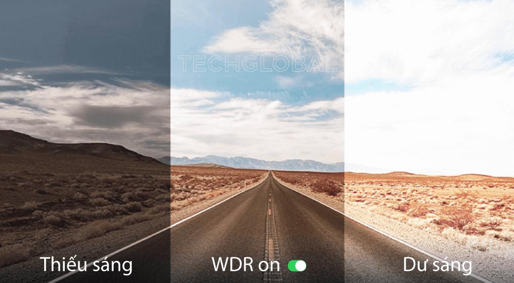 Camera hành trình 70mai Lite tích hợp công nghệ WDR