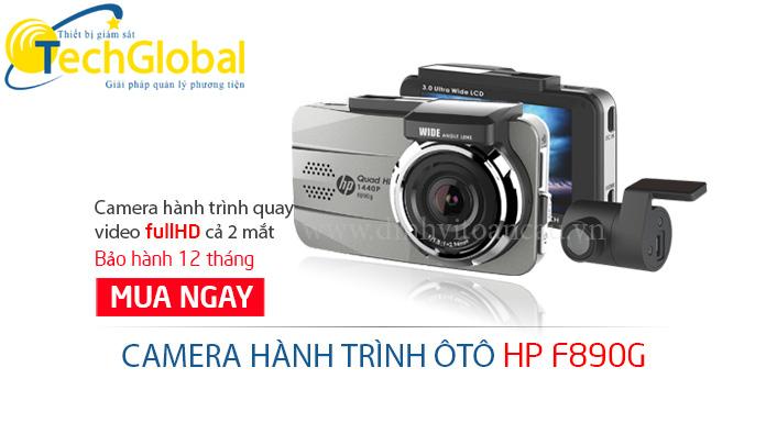 camera hành trình F890G của TechGlobal cung cấp