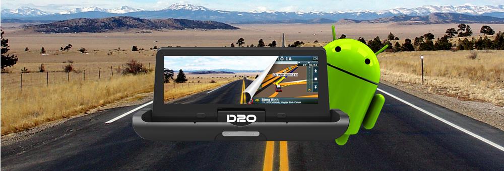Vietmap D20 sử dụng chip lõi tứ, RAM 1GB cùng với hệ điều hành Android 5.0 đa nhiệm