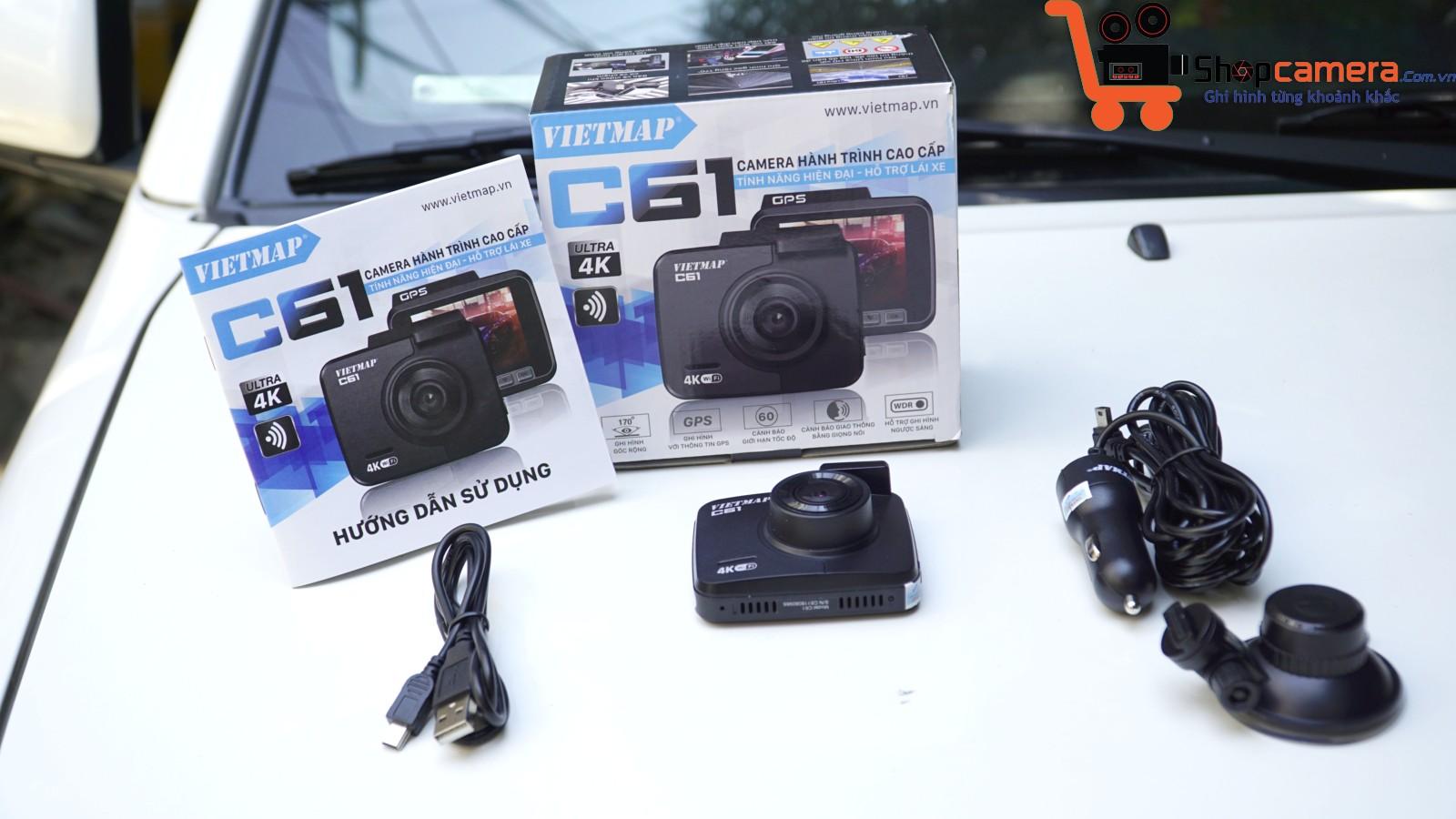 Camera hành trình C61 chuyên nghiệp cho xe ô tô