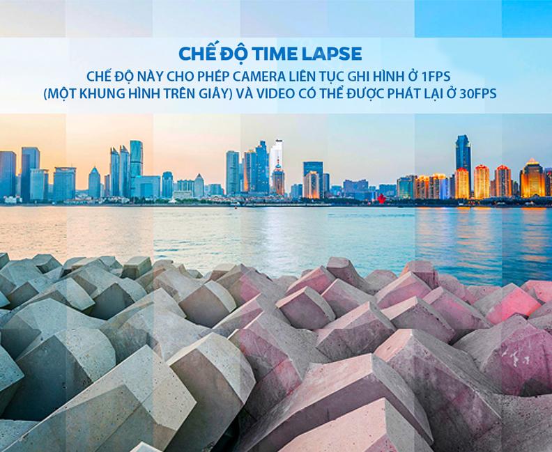 Camera Hành Trình Vietmap C62S Phiên Bản Mới được tích hợp chế độ ghi hình time lapse