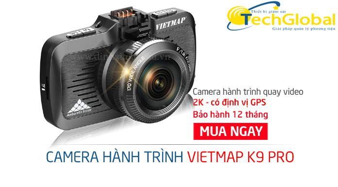 Camera hành trình ô tô K9 Pro ghi hình lên đến 2K của TechGlobal cung cấp